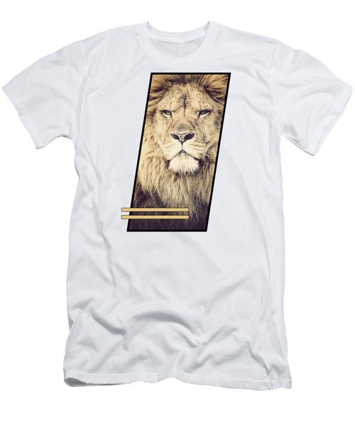 Male Lion Men's T-Shirt (Athletic Fit)