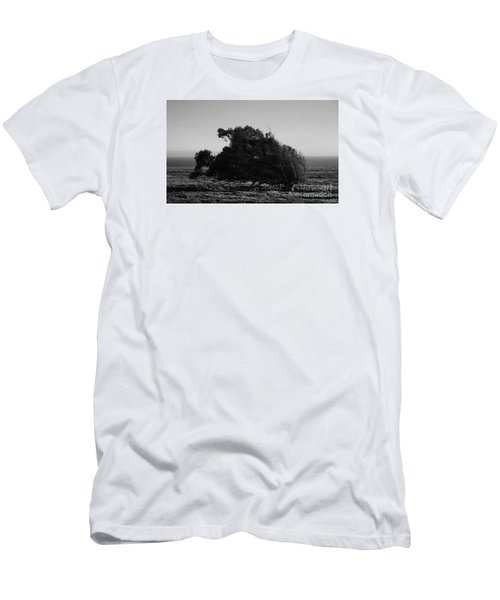 Men's T-Shirt (Athletic Fit) featuring the photograph Malformed Treeline by Clayton Bruster