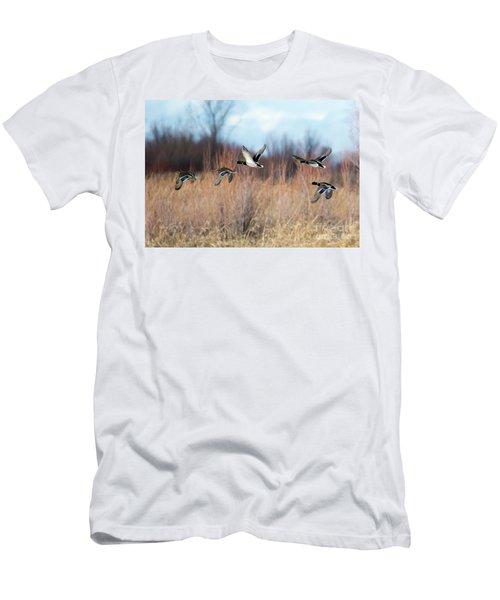 Mallard Flight Men's T-Shirt (Athletic Fit)