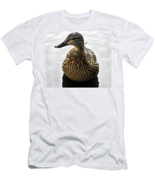 Mallard Profile Men's T-Shirt (Athletic Fit)