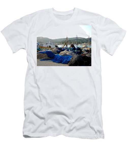 Men's T-Shirt (Slim Fit) featuring the photograph Mallorca 2 by Ana Maria Edulescu