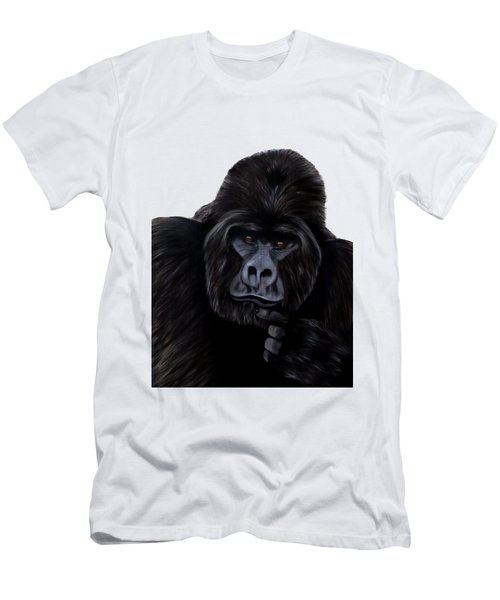 Mammals Gorilla Men's T-Shirt (Athletic Fit)