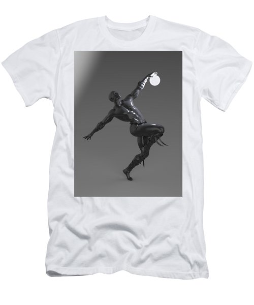 Man Lamp Number Four Men's T-Shirt (Athletic Fit)