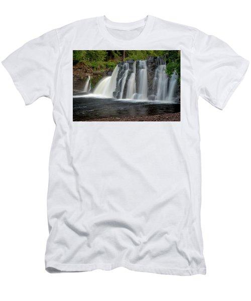 Manabezho Falls Men's T-Shirt (Athletic Fit)