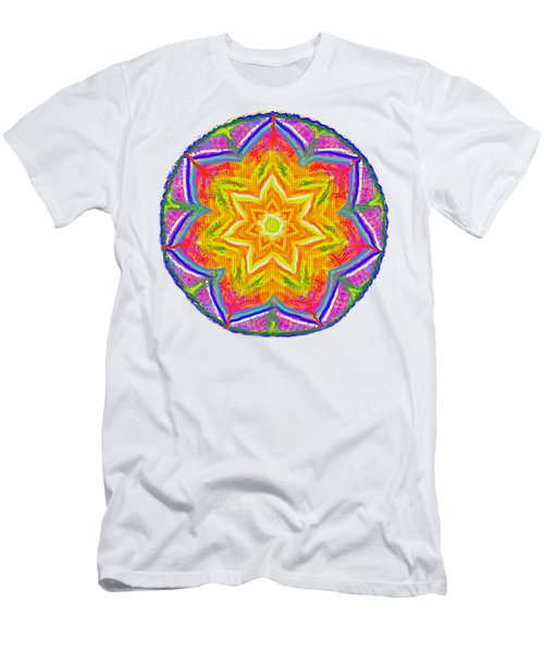 Mandala 12 20 2015 Men's T-Shirt (Athletic Fit)