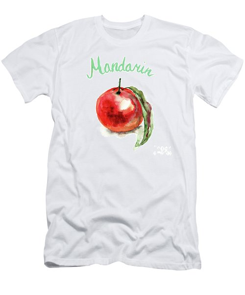 Mandarin Fruits Men's T-Shirt (Athletic Fit)