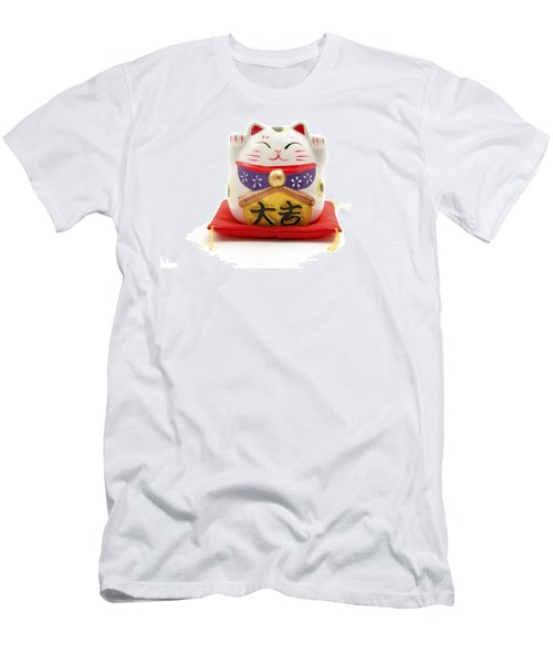 Maneki Neko Men's T-Shirt (Athletic Fit)