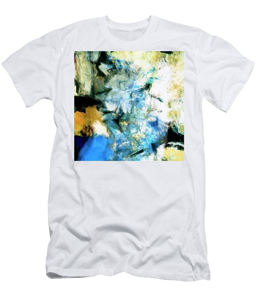 Men's T-Shirt (Slim Fit) featuring the painting Manifestation by Dominic Piperata