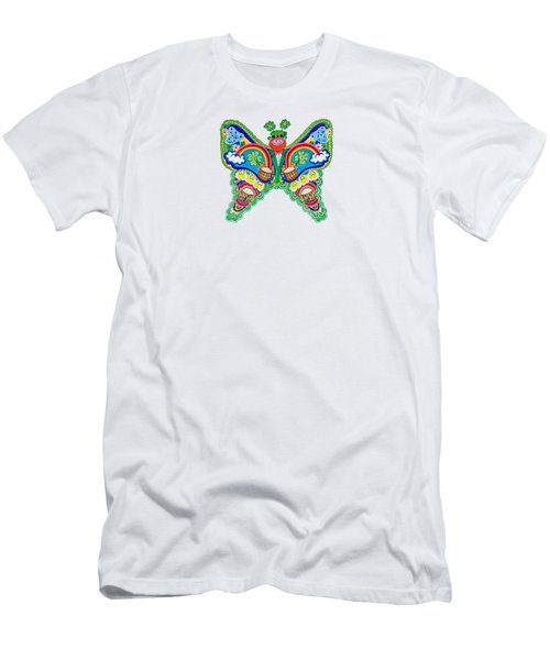 March Butterfly Men's T-Shirt (Athletic Fit)
