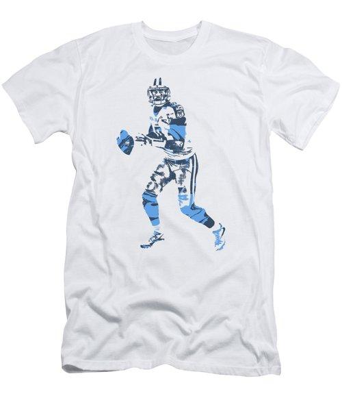 Marcus Mariota Tennessee Titans Pixel Art T Shirt 1 Men's T-Shirt (Athletic Fit)