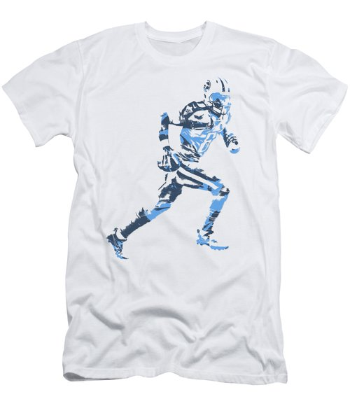 Marcus Mariota Tennessee Titans Pixel Art T Shirt 2 Men's T-Shirt (Athletic Fit)