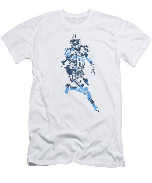 Marcus Mariota Tennessee Titans Pixel Art T Shirt 3 Men's T-Shirt (Athletic Fit)