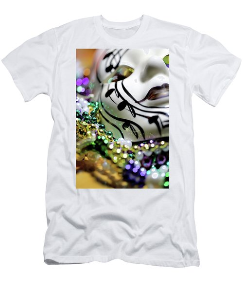 Mardi Gras I Men's T-Shirt (Slim Fit) by Trish Mistric
