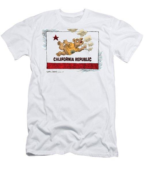 Marijuana Referendum In California Men's T-Shirt (Athletic Fit)