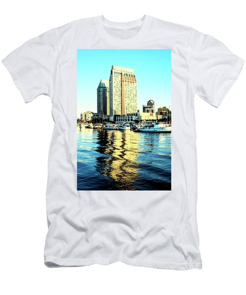 Marina Reflections Men's T-Shirt (Athletic Fit)