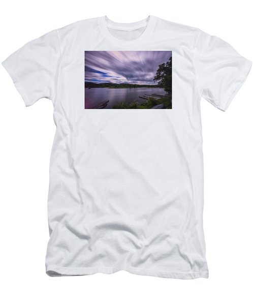Men's T-Shirt (Slim Fit) featuring the photograph Marina Sky by Tom Singleton