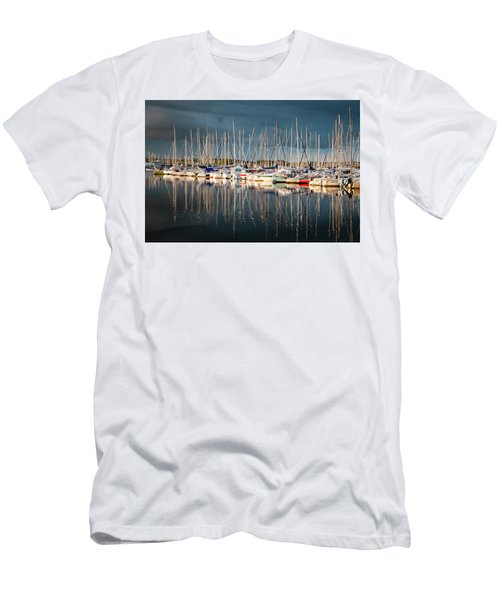 Marina Sunset 4 Men's T-Shirt (Athletic Fit)
