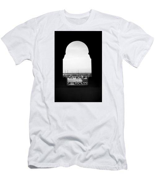Marina Through The Window Men's T-Shirt (Athletic Fit)