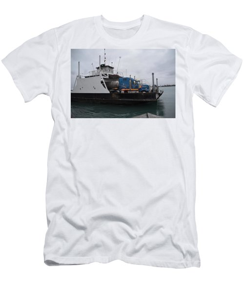 Marine City Mich Car Truck Ferry Men's T-Shirt (Athletic Fit)