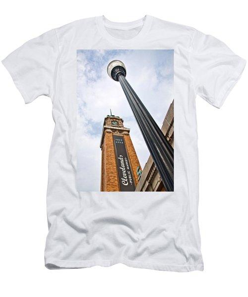 Market Clock Tower Men's T-Shirt (Athletic Fit)