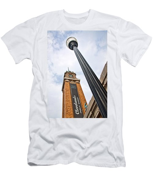 Market Clock Tower Men's T-Shirt (Athletic Fit)