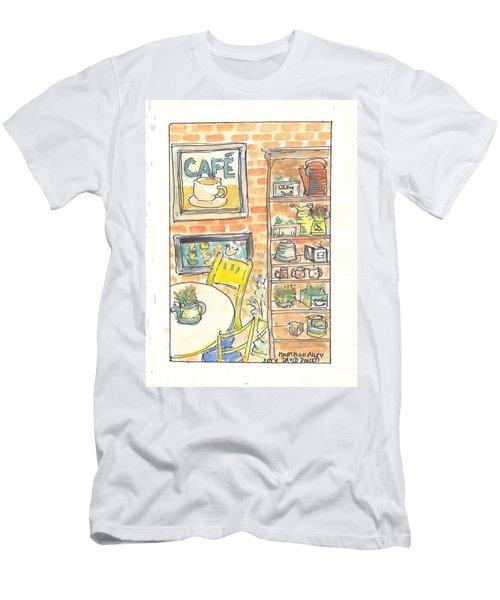 Martello Alley Men's T-Shirt (Slim Fit) by David Dossett