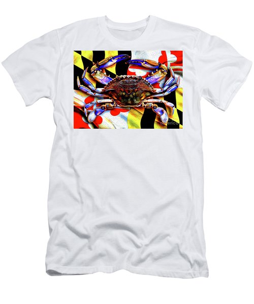 Maryland Blue Crab Men's T-Shirt (Athletic Fit)