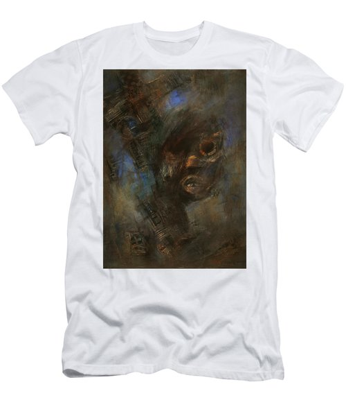 Hidden Men's T-Shirt (Slim Fit) by Behzad Sohrabi
