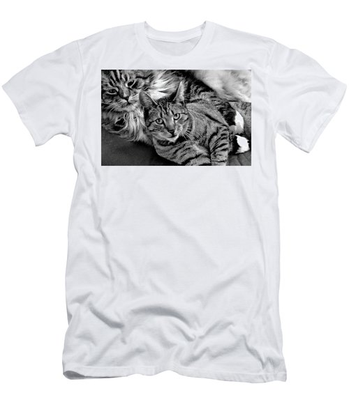 Men's T-Shirt (Athletic Fit) featuring the photograph Master And Apprentice by Roger Bester