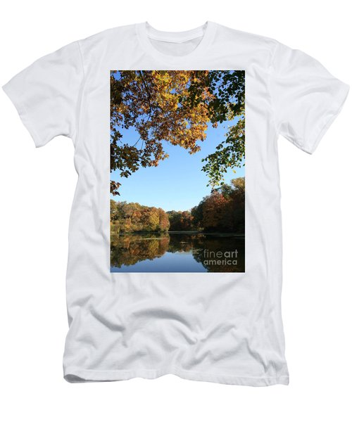 Matthiessen Lake In Autumn Men's T-Shirt (Athletic Fit)