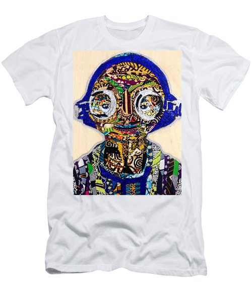 Men's T-Shirt (Athletic Fit) featuring the tapestry - textile Maz Kanata Star Wars Awakens Afrofuturist Colection by Apanaki Temitayo M