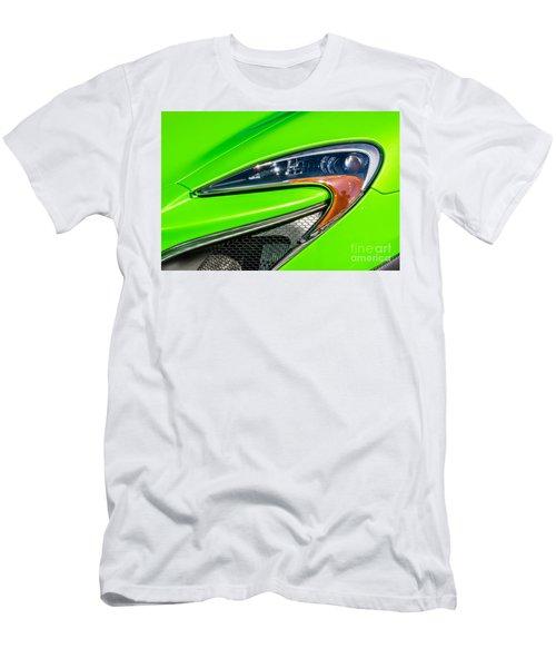 Mclaren P1 Headlight Men's T-Shirt (Slim Fit) by Aloha Art