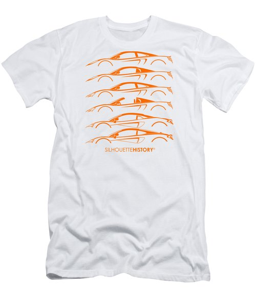 Mcsportscar Silhouettehistory Men's T-Shirt (Slim Fit)