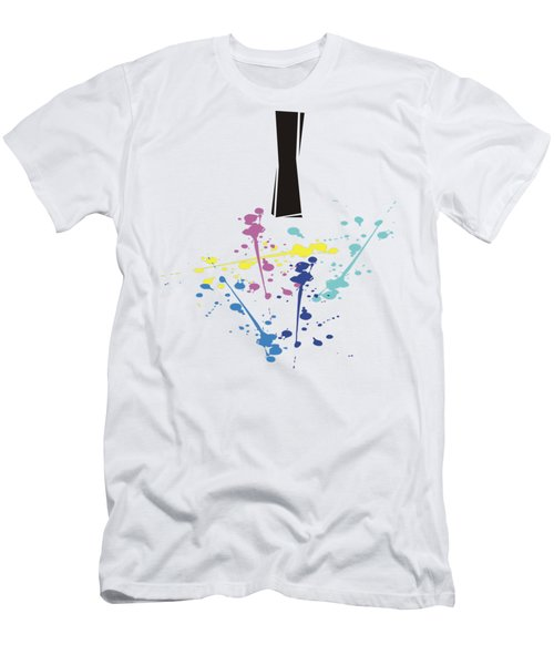 Me Myself And I Men's T-Shirt (Slim Fit) by Jacquie King