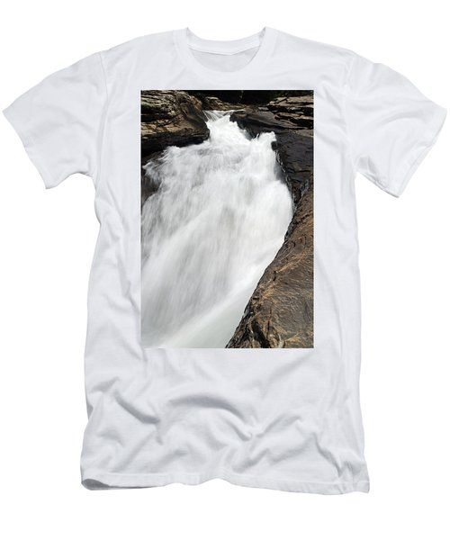 Meadow Run Water Slide 1 Men's T-Shirt (Athletic Fit)