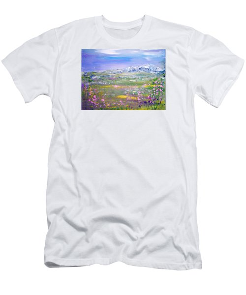 Meadow Sky By Colleen Ranney Men's T-Shirt (Athletic Fit)