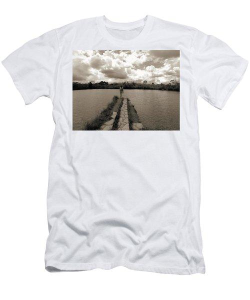 Meditation Men's T-Shirt (Slim Fit) by Beto Machado