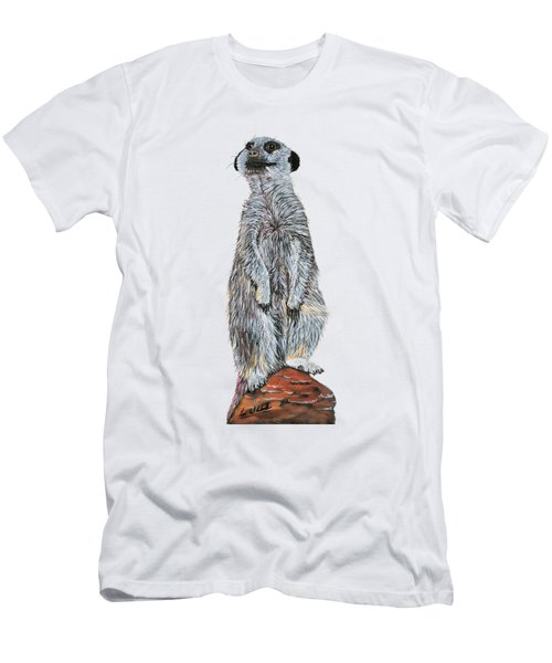Meer Curiosity Custom Men's T-Shirt (Slim Fit) by Lee Wolf Winter