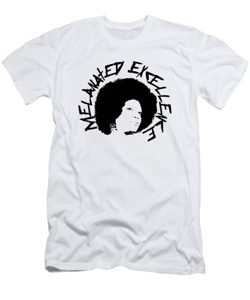 Melanated Excellence I Men's T-Shirt (Athletic Fit)