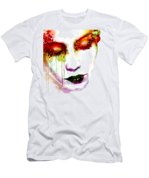 Melancholy In Watercolor Men's T-Shirt (Athletic Fit)