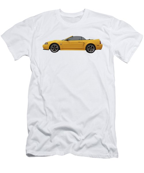 Mellow Yellow 1999 Mustang  Men's T-Shirt (Athletic Fit)