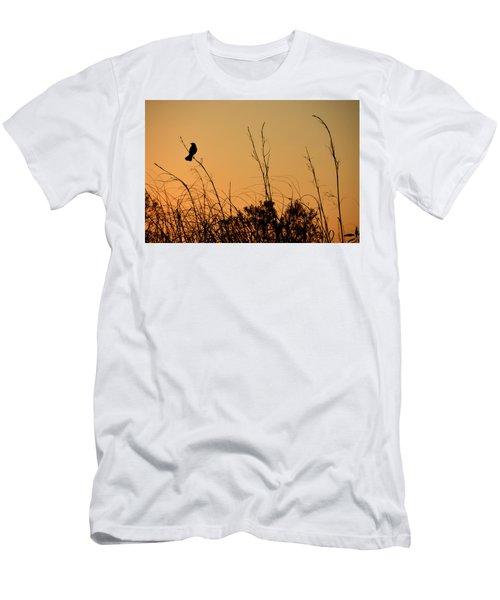Melody At Dusk Men's T-Shirt (Slim Fit)