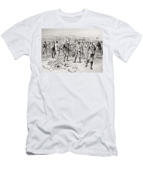 Men Of The Royal Irish Rifles And Men's T-Shirt (Athletic Fit)