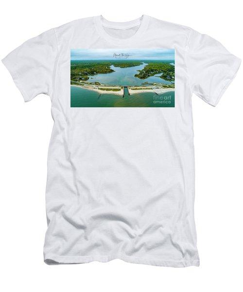 Menauhant Beach Men's T-Shirt (Athletic Fit)