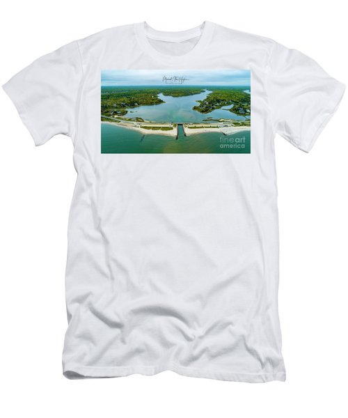Menauhant Beach Men's T-Shirt (Athletic Fit)