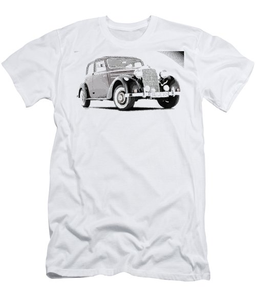 Mercedes Benz 170 S - Parallel Hatching Men's T-Shirt (Athletic Fit)