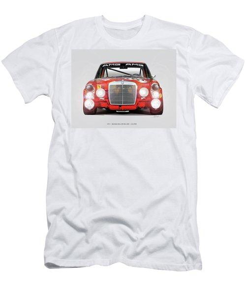 Mercedes-benz 300sel 6.3 Amg Men's T-Shirt (Slim Fit) by Alain Jamar