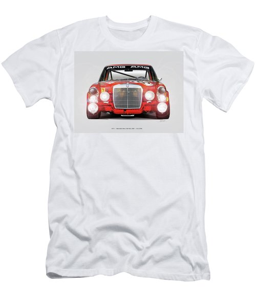 Mercedes-benz 300sel 6.3 Amg Men's T-Shirt (Athletic Fit)