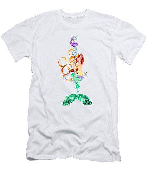 Mermaid Men's T-Shirt (Slim Fit) by Aubrey Hittle