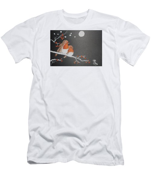 Merry Christmas Men's T-Shirt (Athletic Fit)